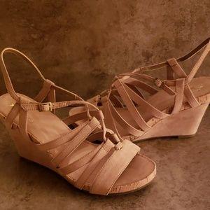 Aerosoles Poppy Plush Wedge Sandals